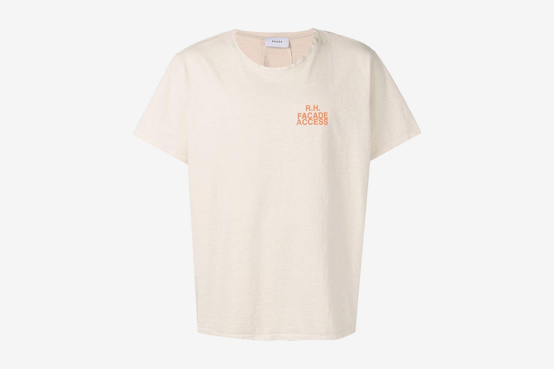 Facade Access Print T-shirt
