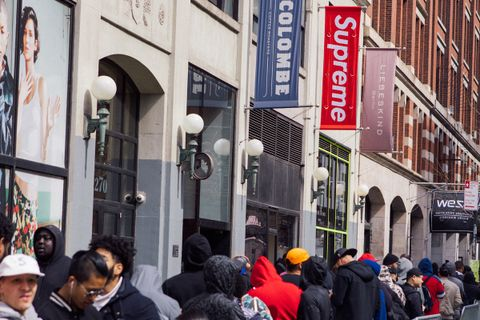 supreme closing down Chance the Rapper Raf Simons Tekashi 6ix9ine
