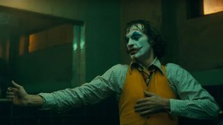 Joaquin Phoenix in 'joker' dancing
