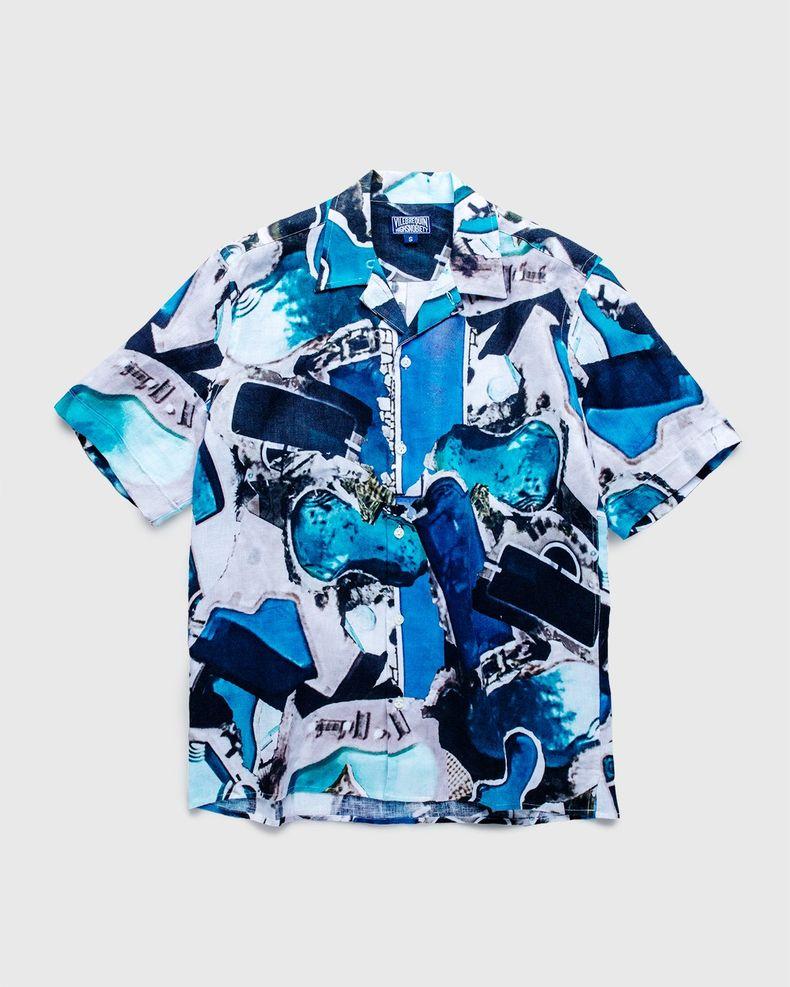 Vilebrequin x Highsnobiety — Pattern Shirt Blue