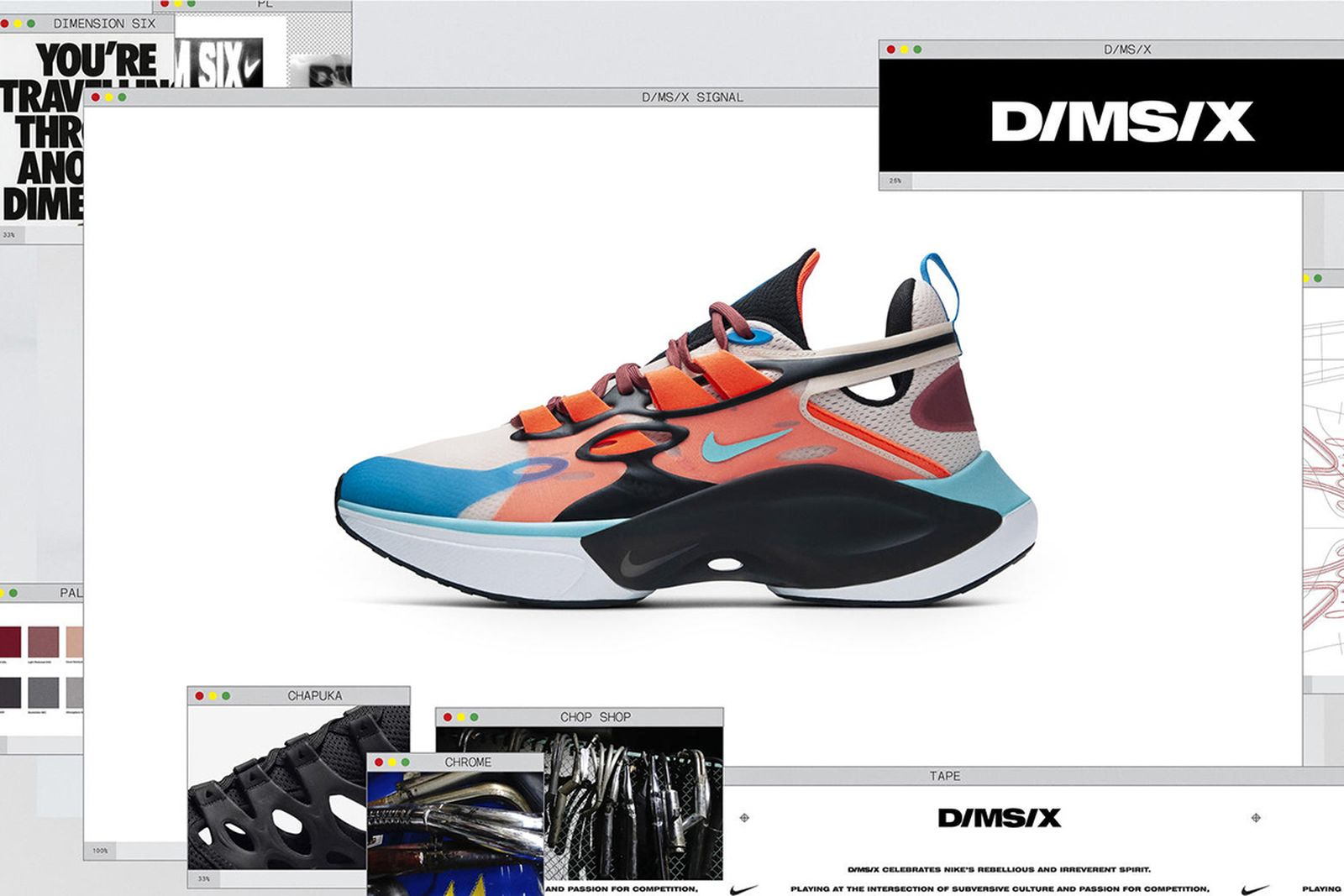 nike launch three concept driven footwear lines