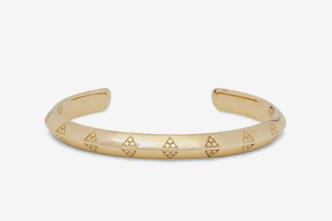 Viking 9-Karat Gold Cuff