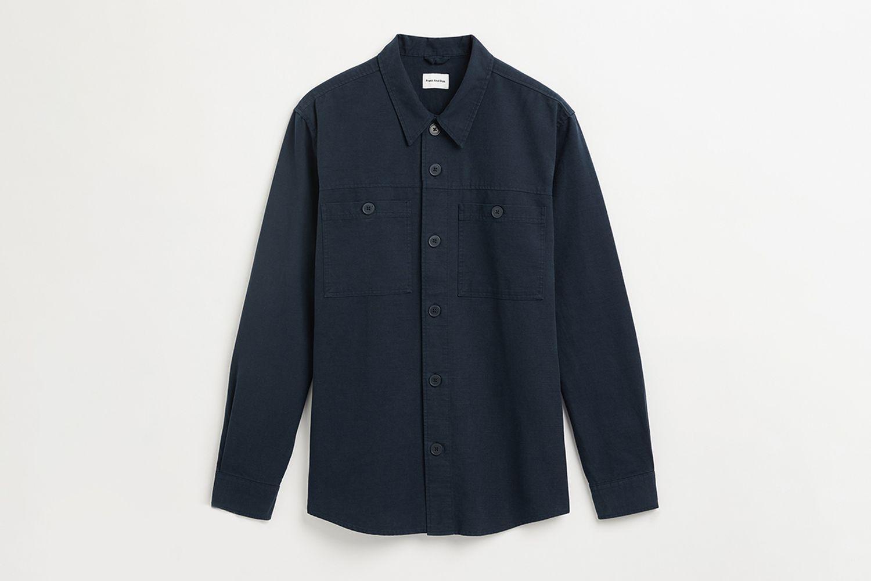 Cotton and Hemp Overshirt