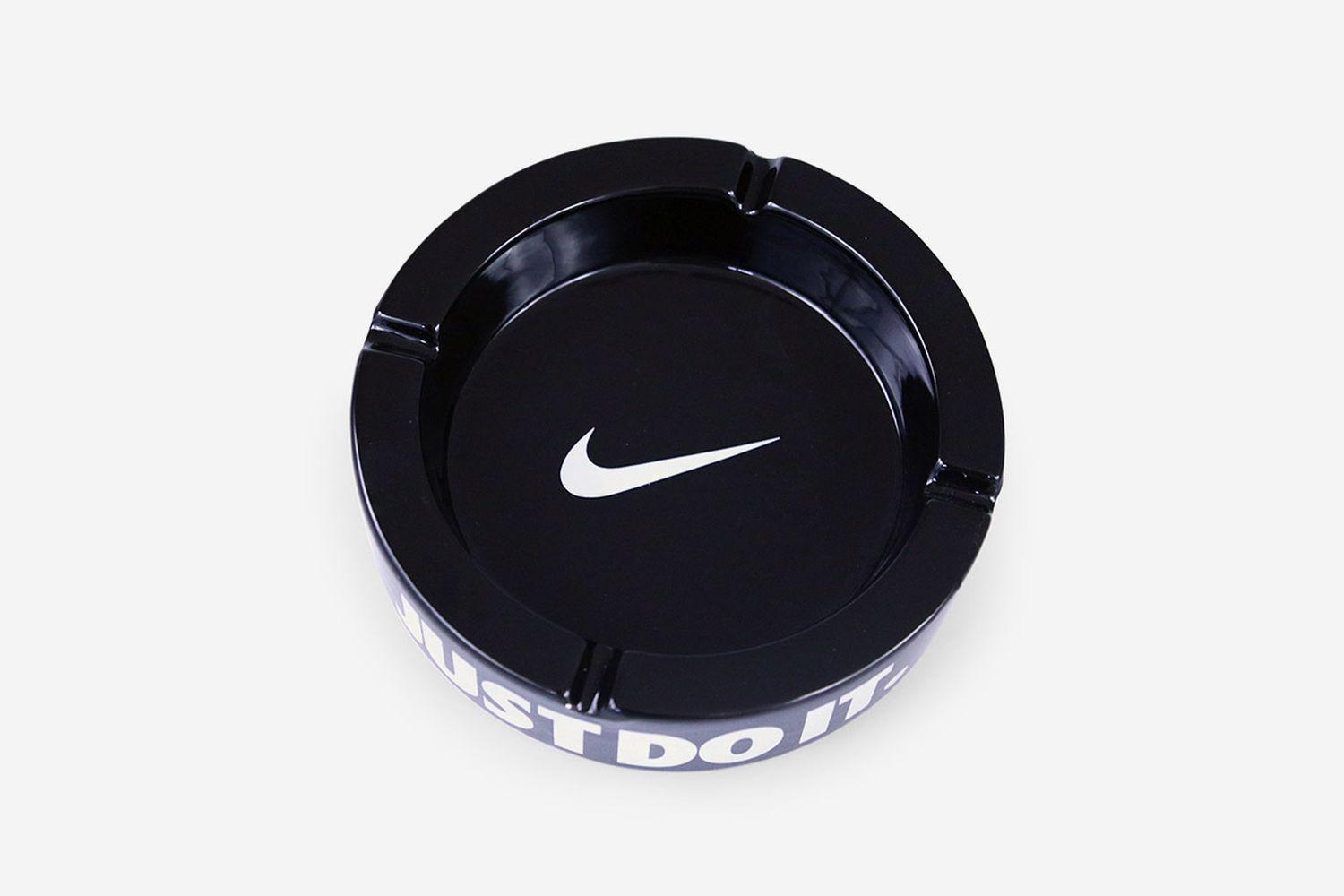 Ceramic Nike Ashtray
