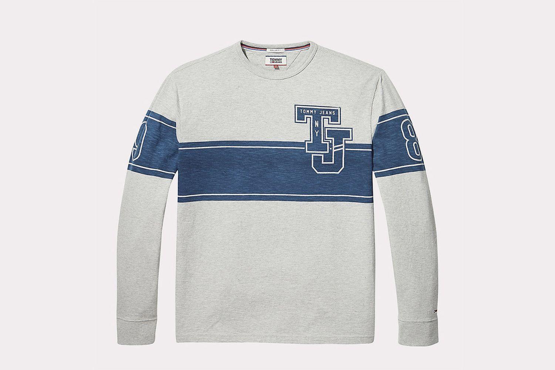 Baseball T-Shirt With Long Sleeves