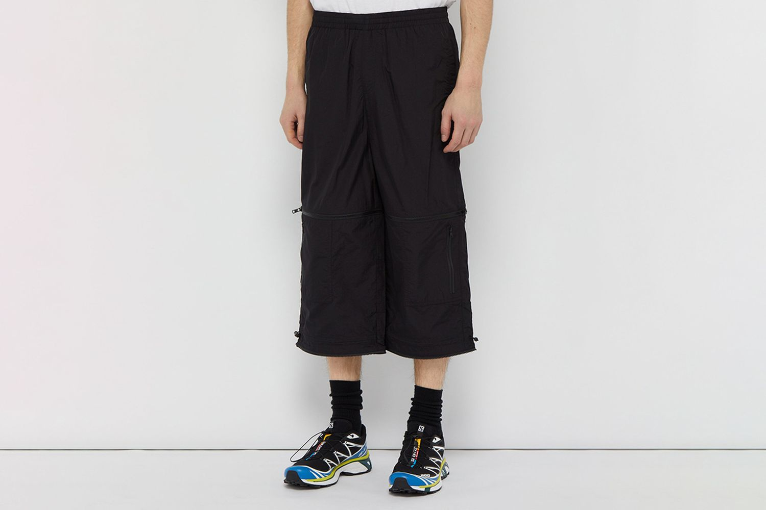 Zipped Shell Track Pants