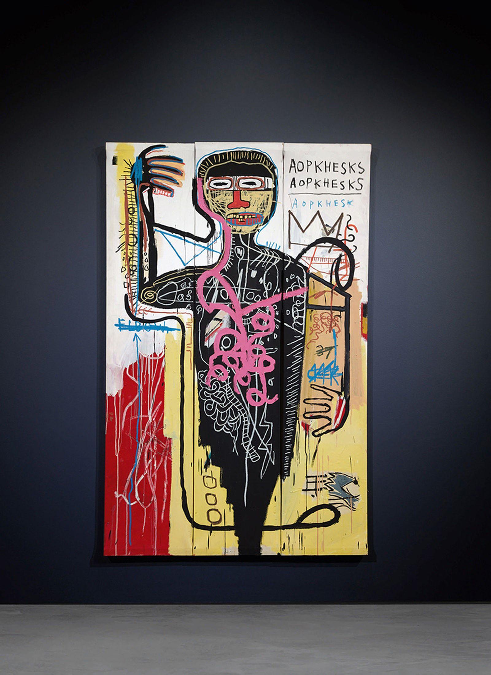 Jean-Michel Basquiat, Versus Medici (1982)