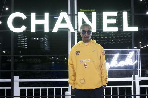 pharrell chanel collab Pharrell Williams