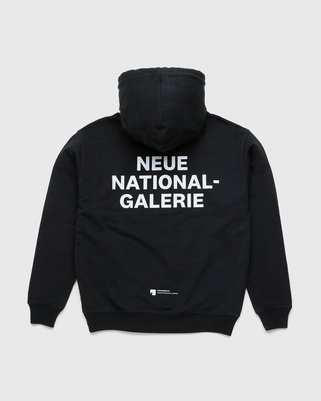 Highsnobiety x Neue National Galerie – Hoodie Black - Image 1