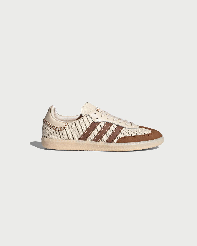 Adidas x Wales Bonner - Samba White/Brown - Image 1