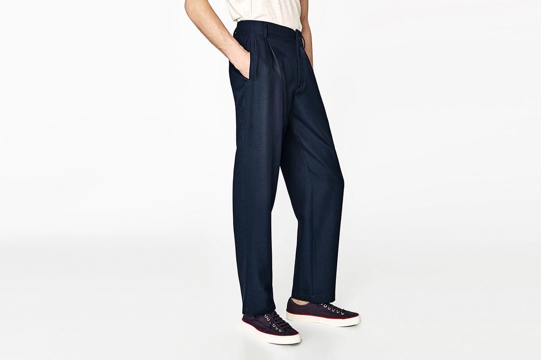 Studio Pleated Trousers