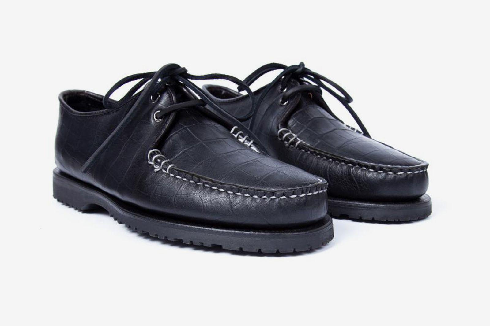 Noah x Sperry Captain's Oxford black