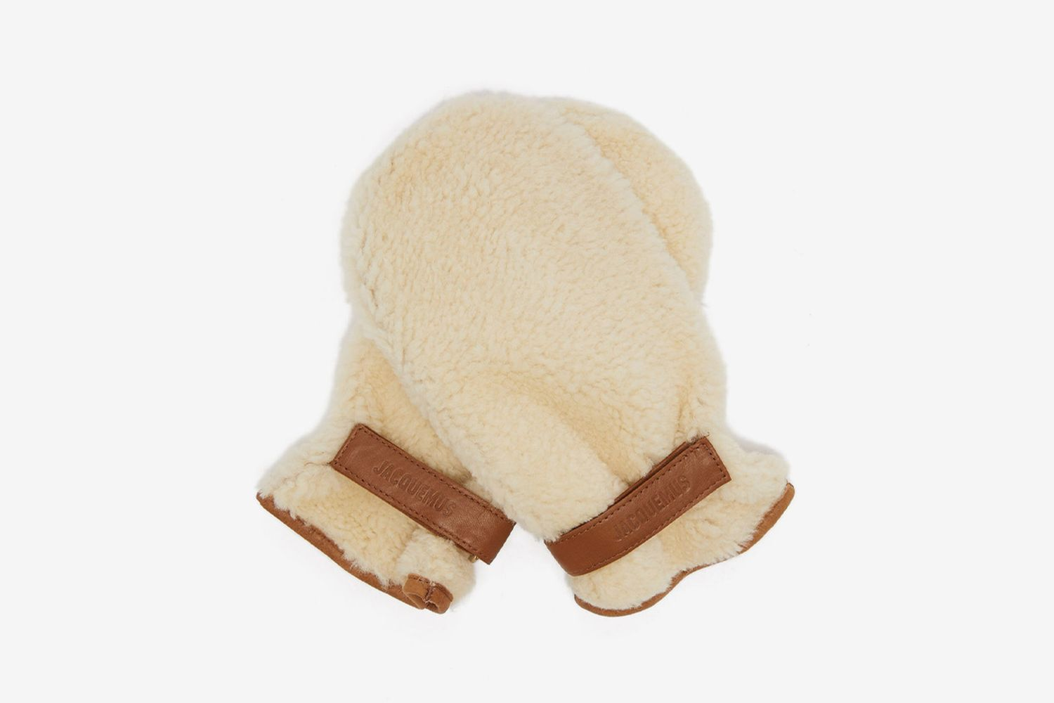 Shearling Mittens