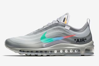 sports shoes e0d25 9d36c OFF-WHITE x Nike Air Max 97 Black   Menta  Sold Out Everywhere