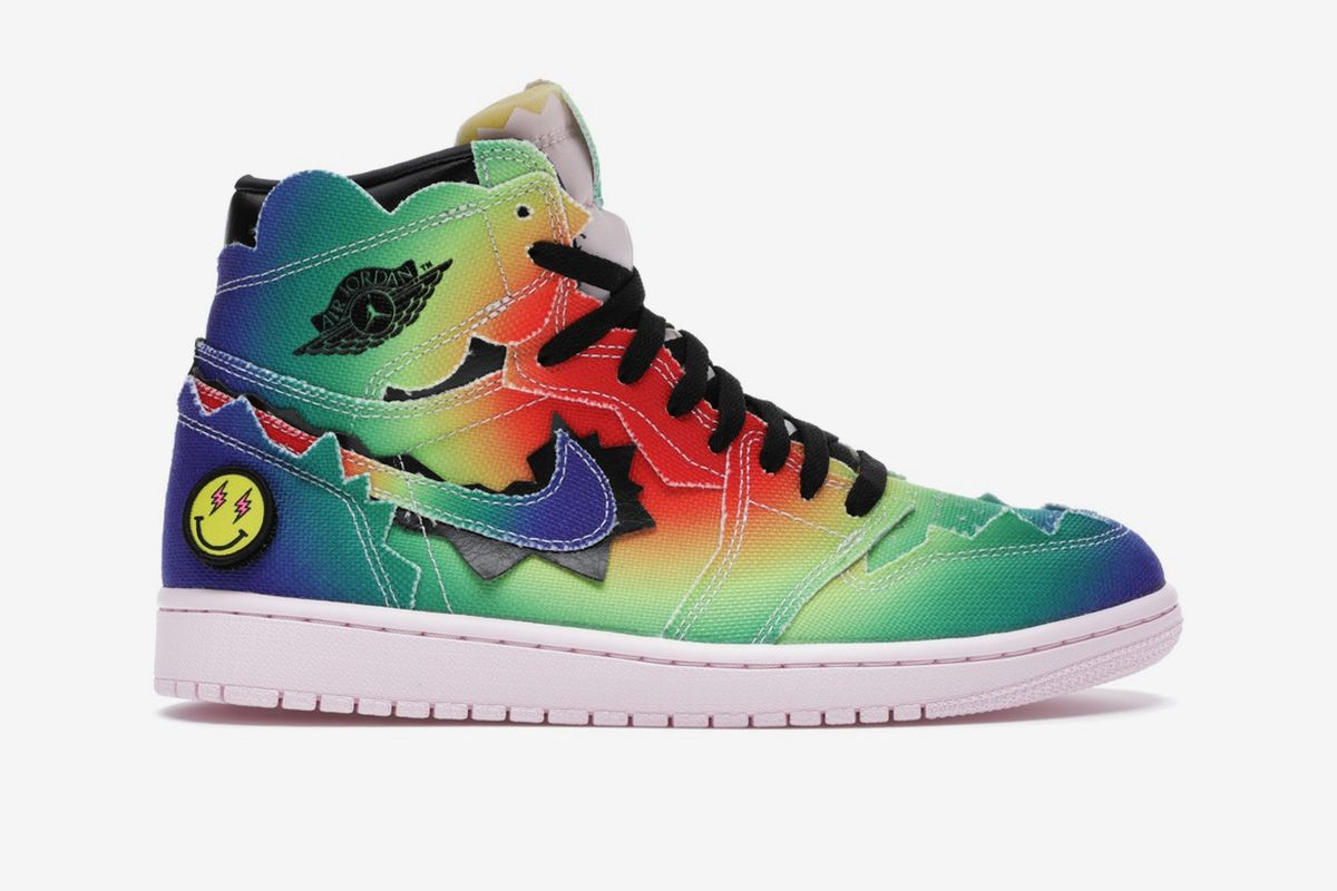 Here's How Much the Jordan 1 J Balvin Is Already Reselling for 3