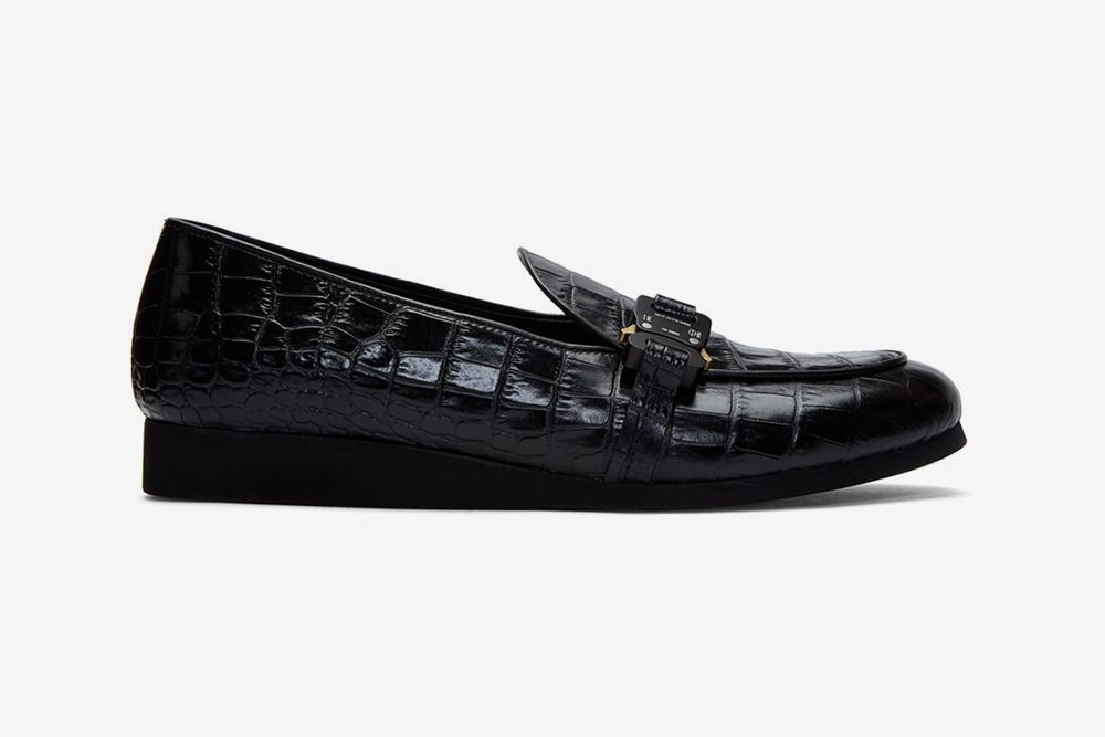 1017 ALYX 9SM's St. Marks Loafers Feature the Brand's Signature Buckles