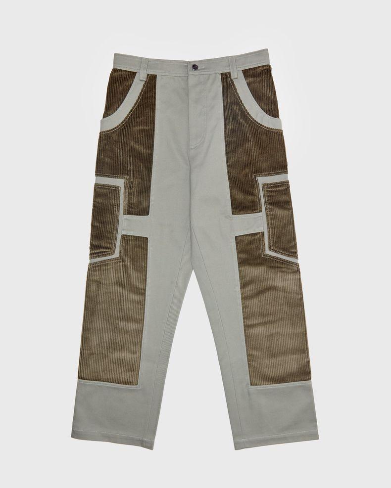 JACQUEMUS — Le Pantalon Bellu  Green