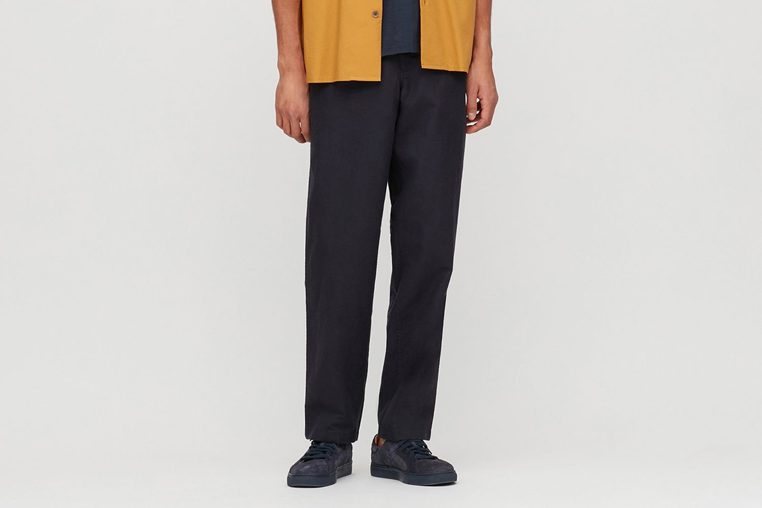 Linen Blended Relaxed Pants
