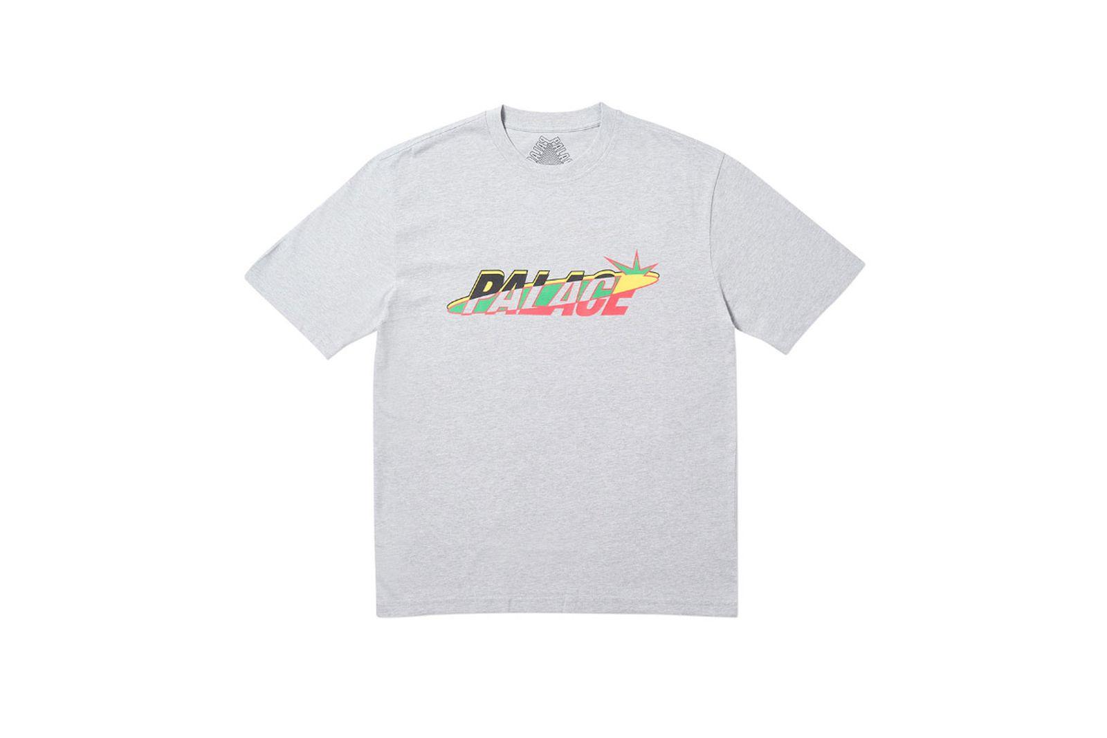 Palace 2019 Autumn T Shirt Lique grey marl