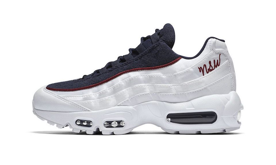 low priced 4968d d5f4c Nike's Air Max 95 Gets a Cursive
