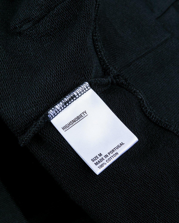 Highsnobiety — Not in Paris 3 Logo Hoodie Black - Image 4