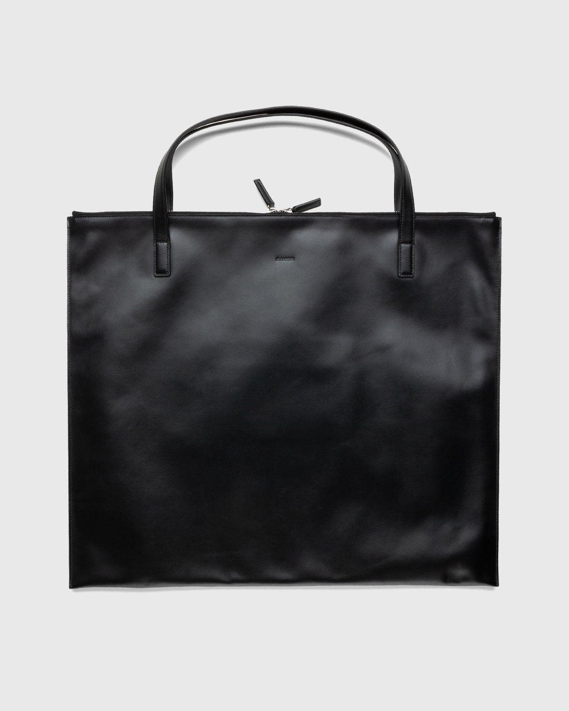 Jil Sander – Zip Tote Medium Black - Image 1