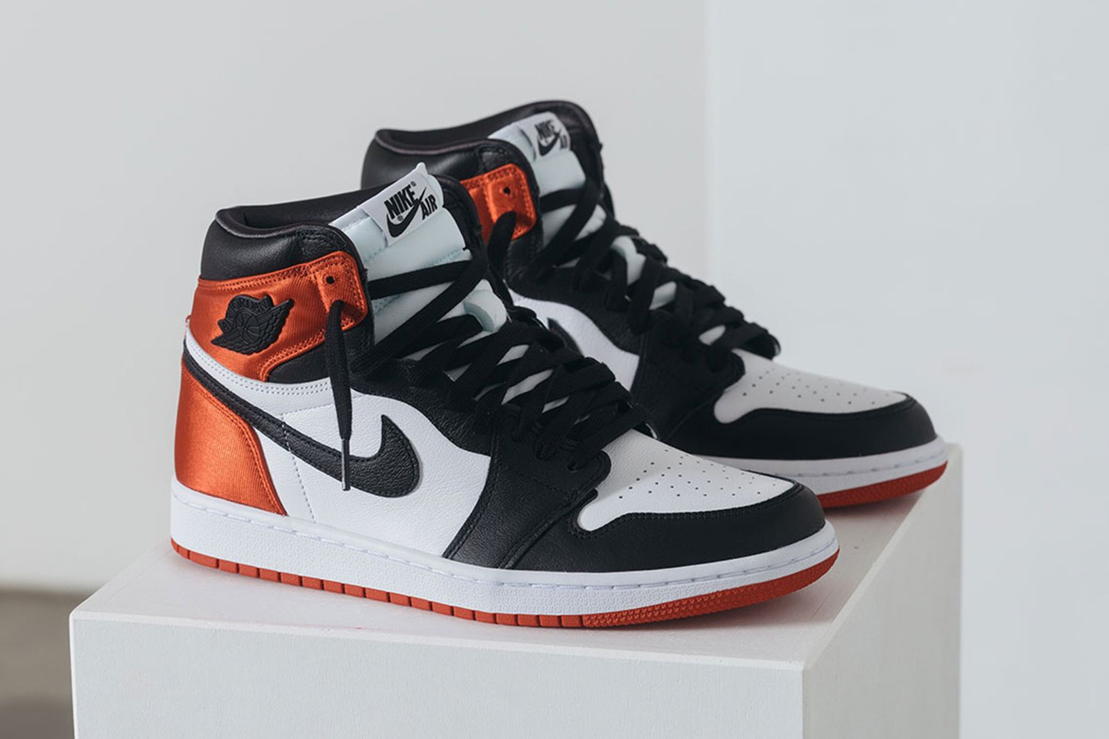 nike air jordan 1 satin black toe release date price jordan brand
