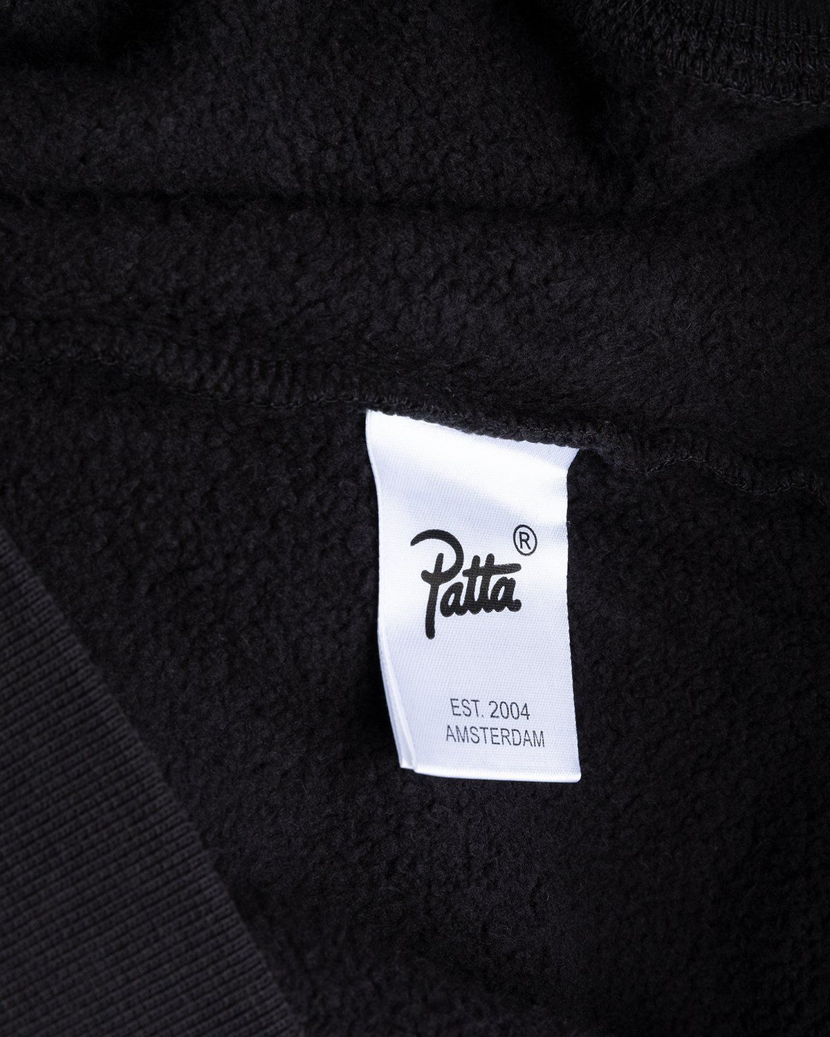 PATTA – This Or That Hooded Sweater Black - Image 5