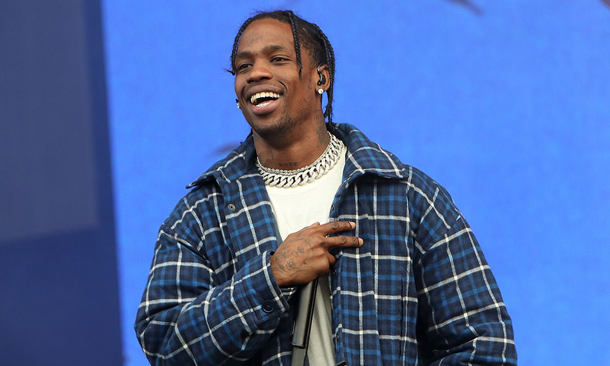 "Travis Scott Gave Fans Free Merch to Celebrate ""Highest in the Room"" at No.1"