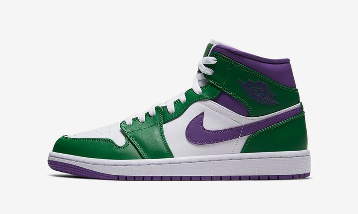 Nike Air Jordan 1 Mid Incredible Hulk
