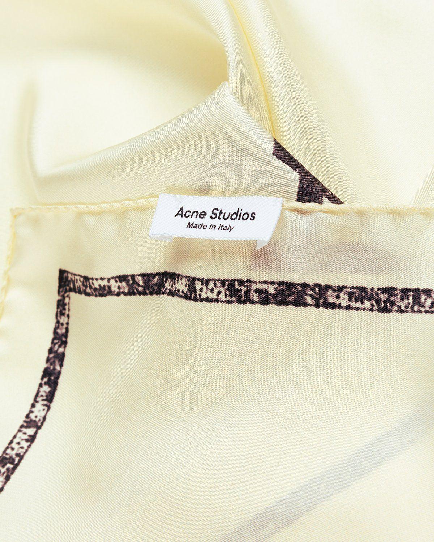 Acne Studios – Logo Bandana Ivory - Image 4