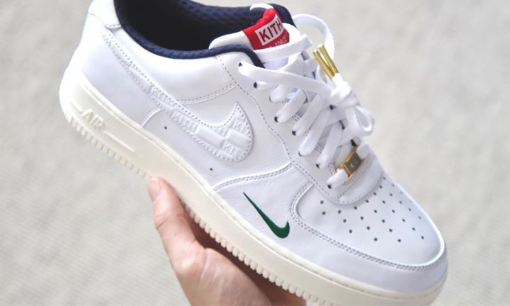 KITH Nike Air Force 1 Low white