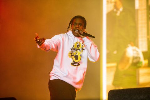 A$AP Rocky Ghosted The White House