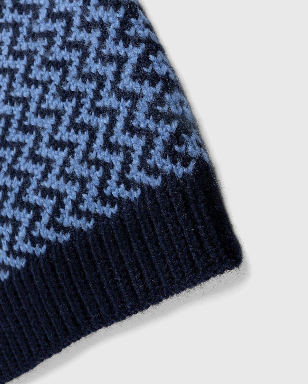 Jil Sander – Vest Kitted Blue - Image 6