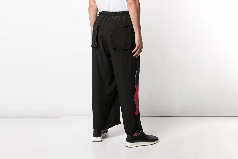 Asakura Wide Leg Trousers