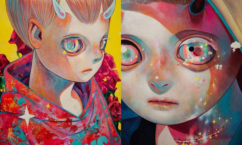 Hikari Shimoda Brings a Touch of Dystopian Horror to Cutesy Japanese Pop Art