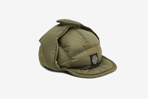 Nylon Metal Down Hat