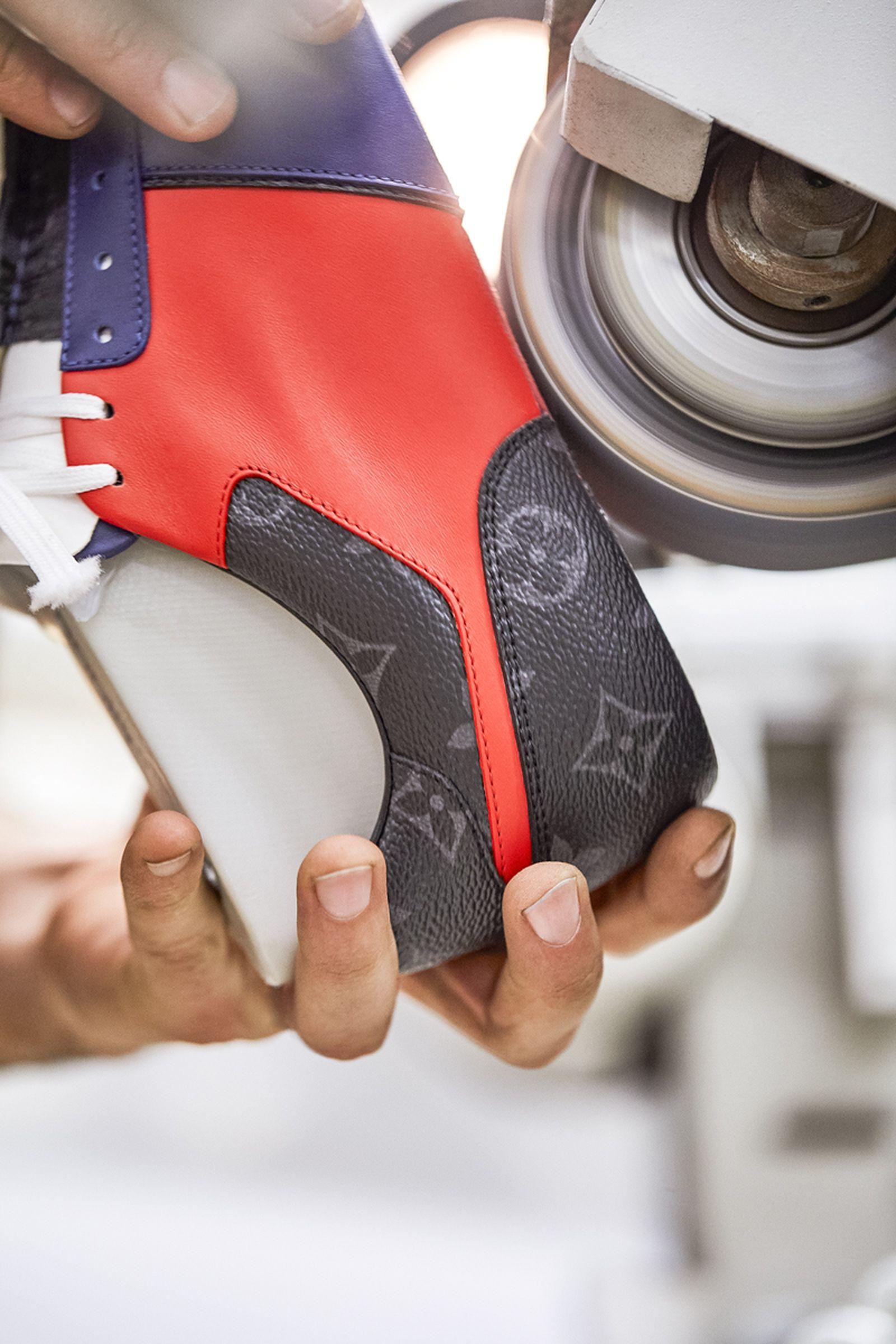 louis vuitton sneaker factory designer sneakers virgil abloh