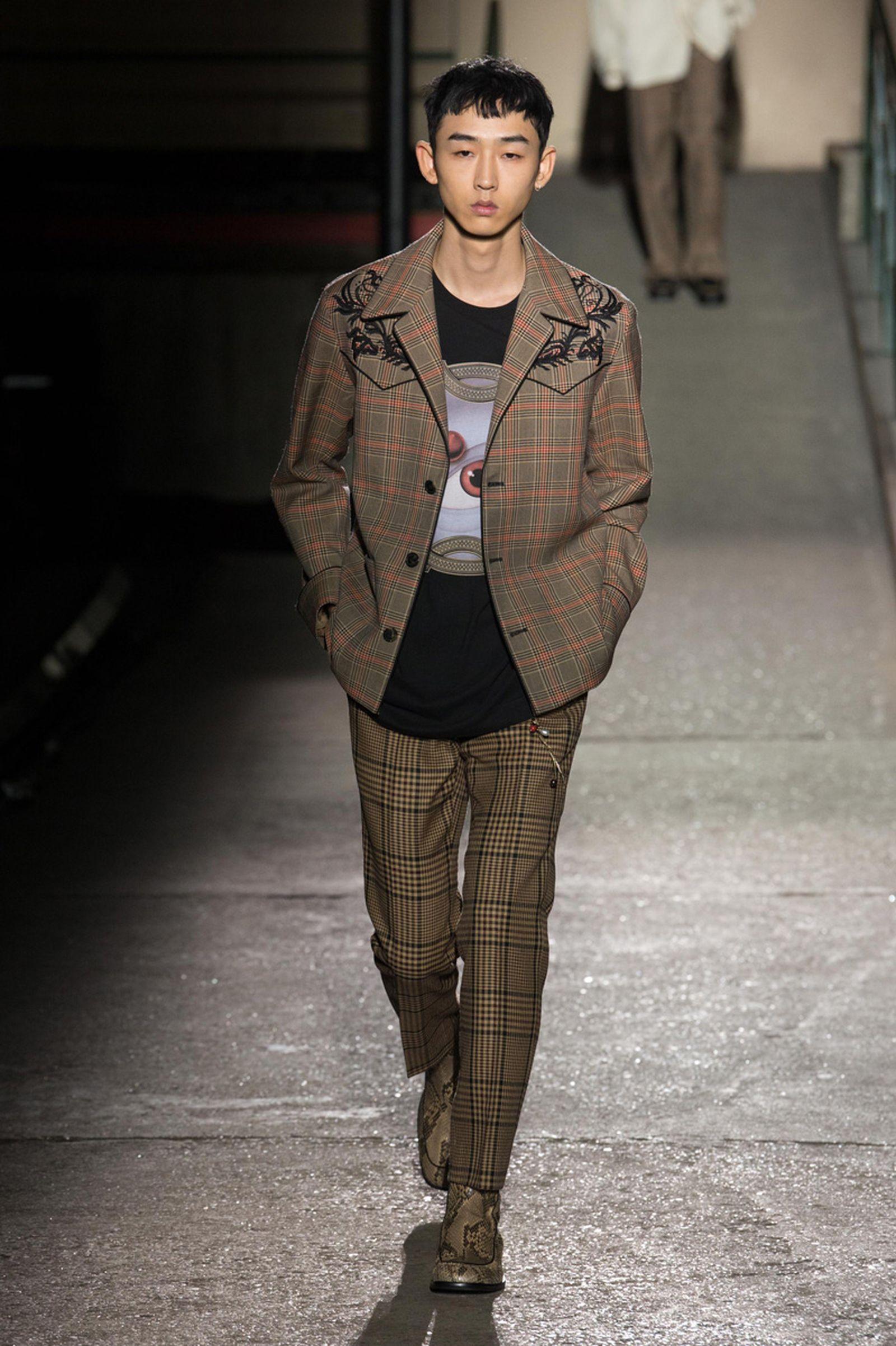 dries van noten AW18 19 look003 fashion week 2018 paris fashion week runway