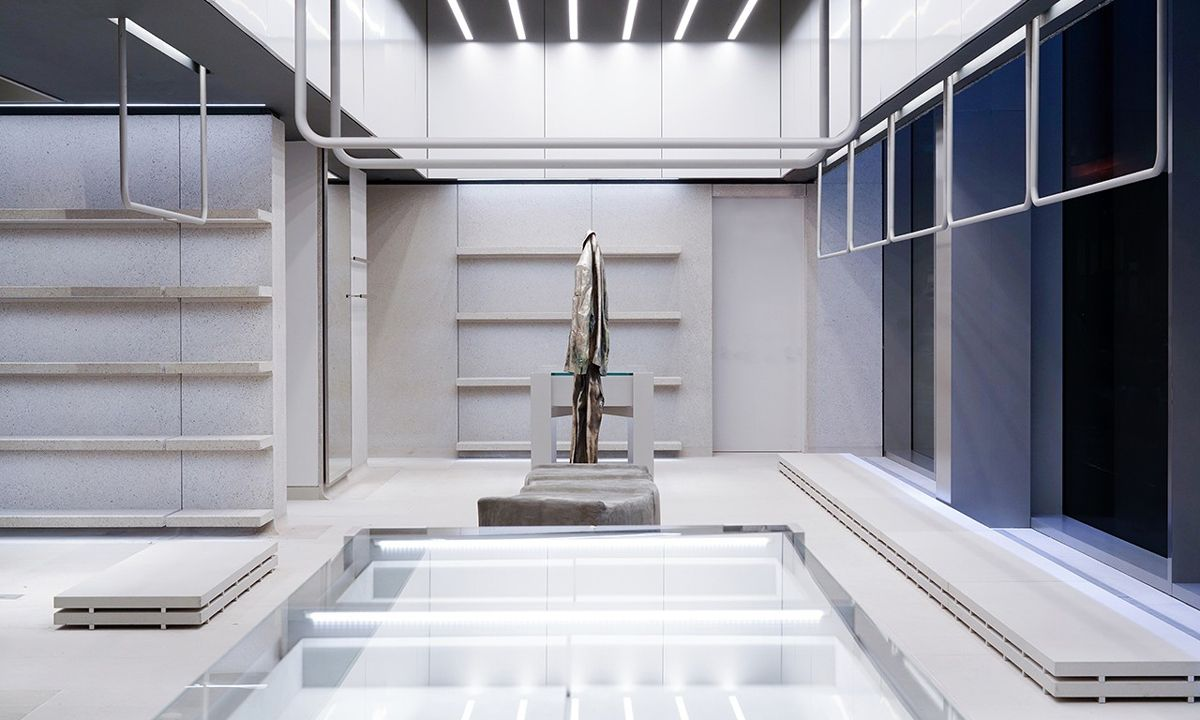 Balenciaga's NYC Flagship Features Terrifyingly Realistic Mannequins