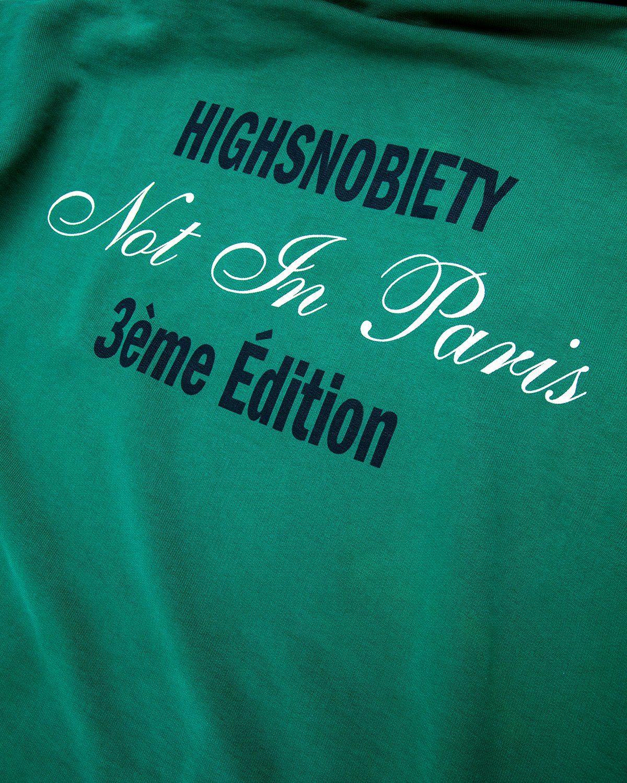 Highsnobiety — Not In Paris 3 Hoodie Green - Image 4