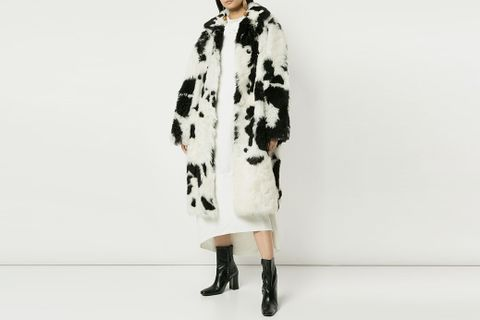 Cow Pattern Coat