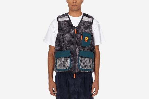 Tier One Novelty Dyed Fur Sunflower Tactical Vest
