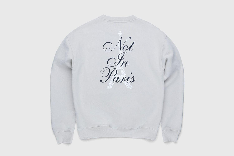 Not In Paris 3 Tour Eiffel Crewneck