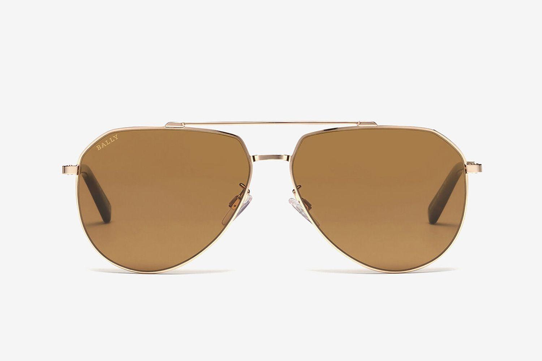 Palm Aviator Sunglasses