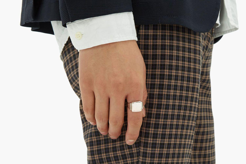 Sterling-silver Signet Ring