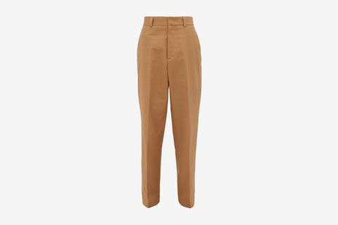 Tyra Cotton-Canvas Trousers