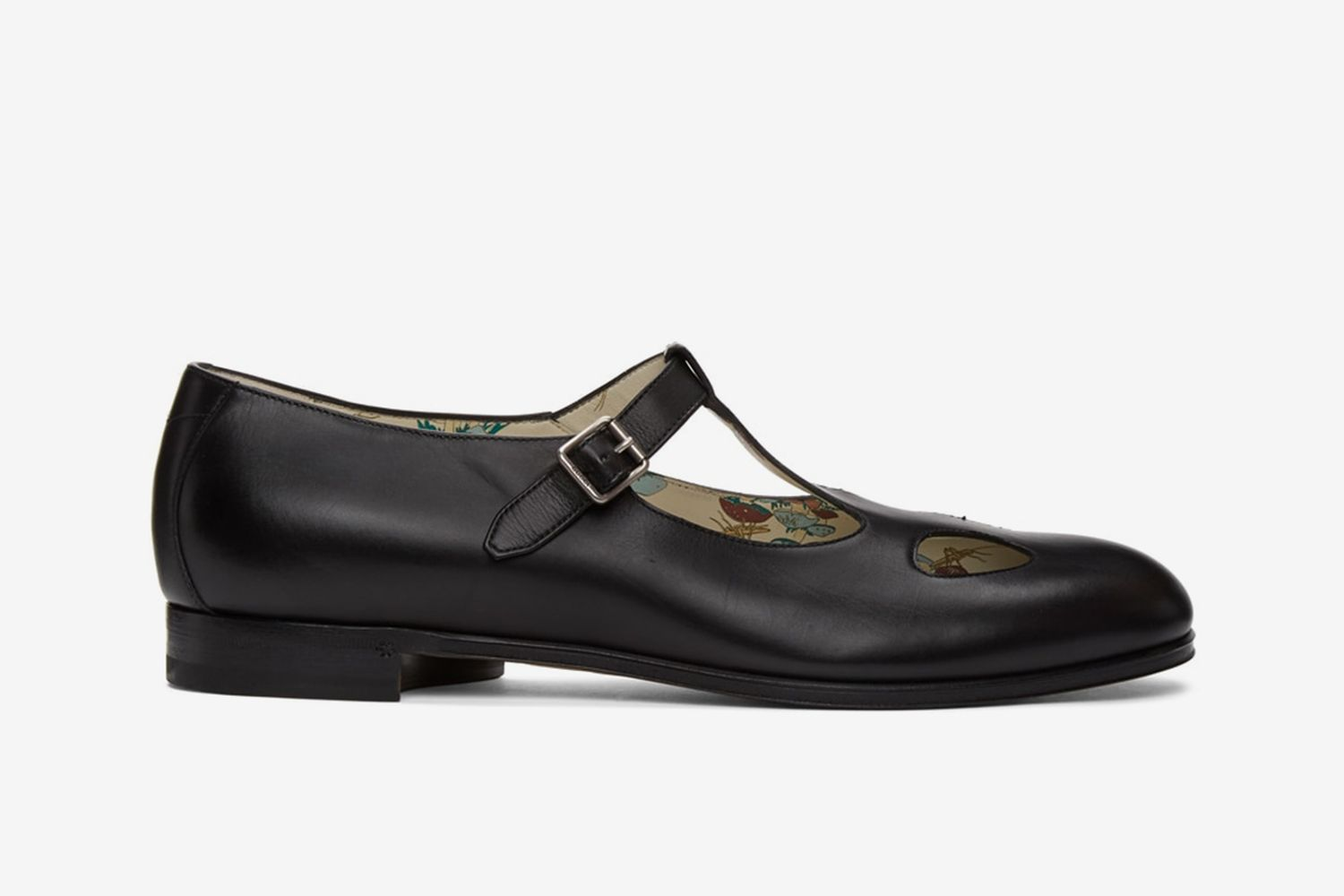 Mary Jane Cutout Loafers