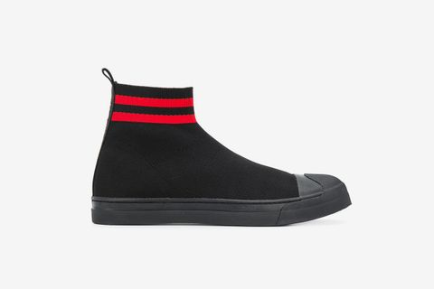 Sock Style High-Top Sneakers