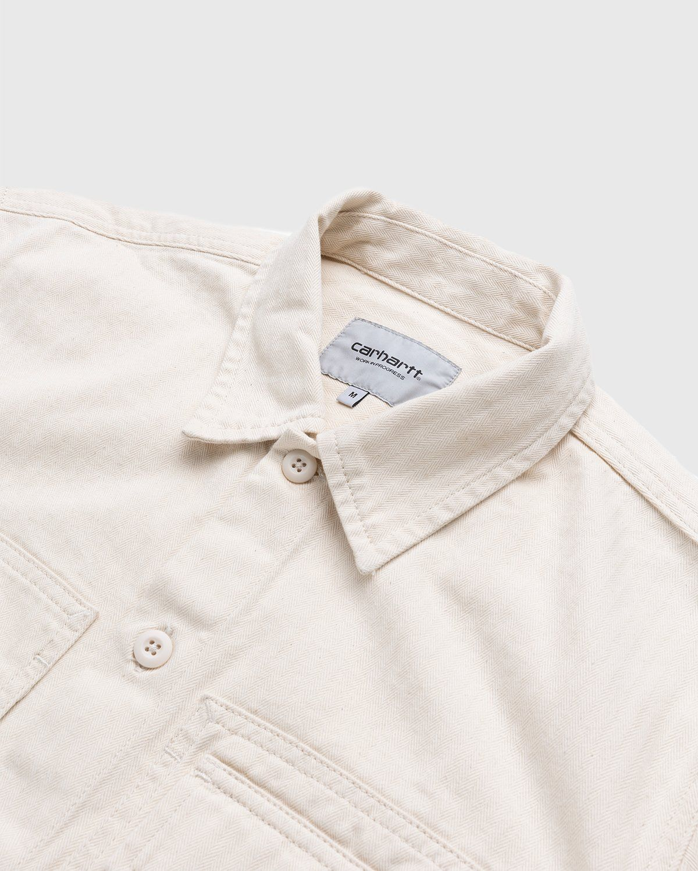 Carhartt WIP – Charter Shirt Natural - Image 3